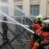 Belgijski vatrogasci iz protesta okupali sedište premijera